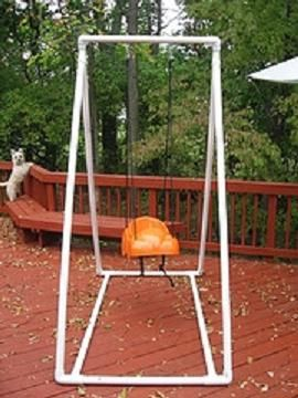 25 best ideas about pvc pipe fort on pinterest pvc fort for Building a swing stand
