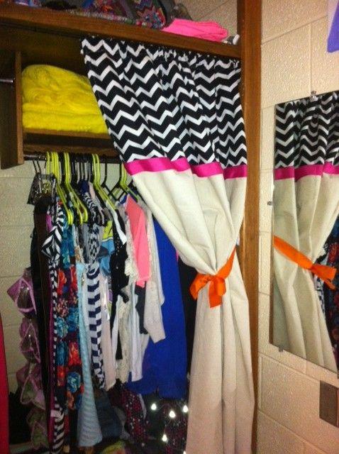 Curtain For Dorm Closet Room Styles