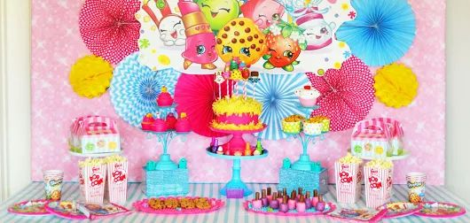 Shopkins Birthday Party by Brittany Schwaigert | Birthday Express