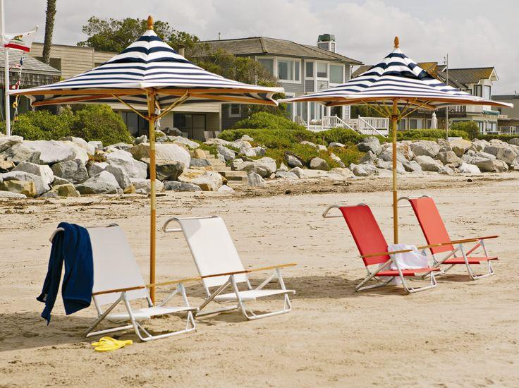 Telescope Casual Beach Aluminum Sling Lounge Set