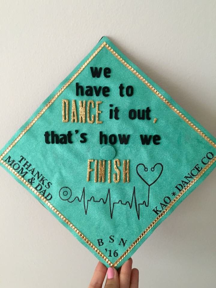 Nursing graduation cap. Greys anatomy quote inspired