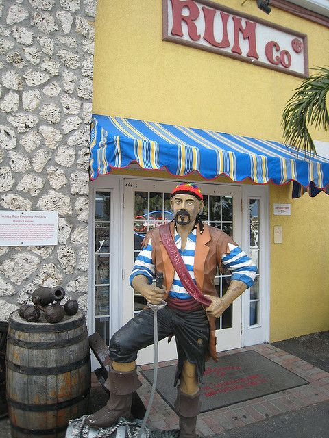 Tortuga Rum Company Shop, Founded in 1984, Georgetown, Cayman Islands.  Love their cakes.