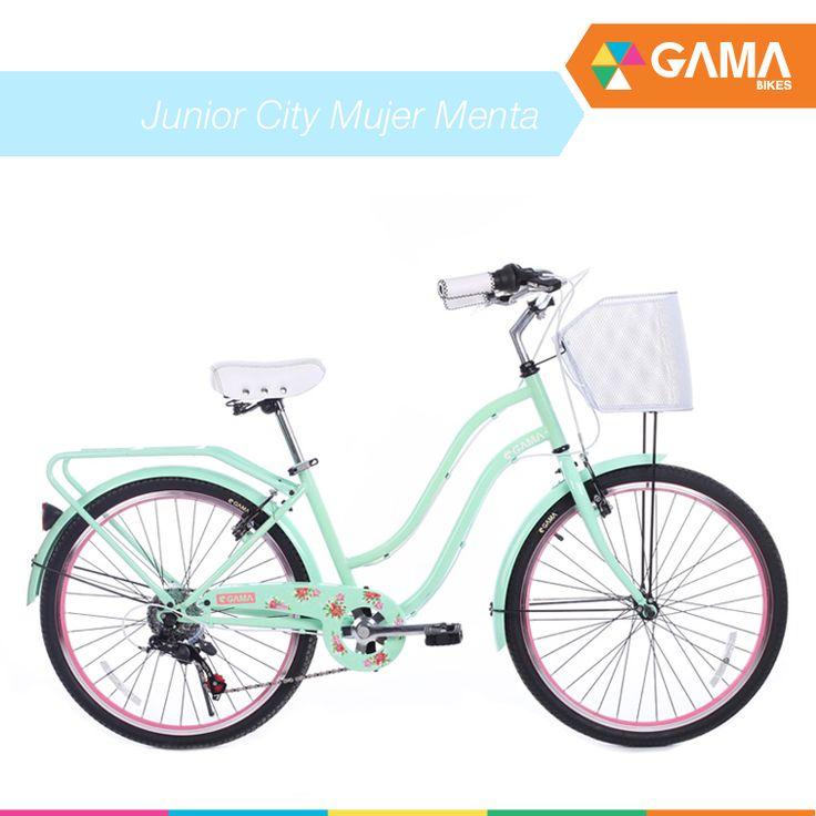 Junior City Mujer Menta entra a ver la tuya directamente en gamabikes.com #NuevaTemporadGama #GamaBikes :)