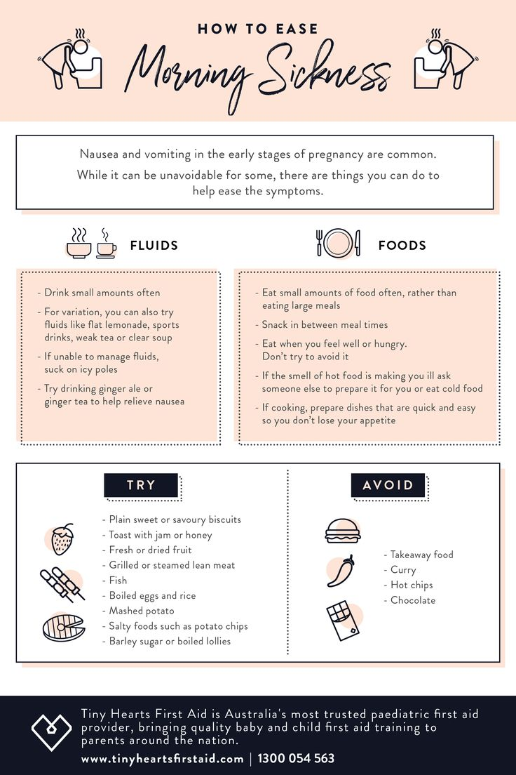 Are you suffering from morning sickness? 🤢  For some expectant mothers, nausea and vomiting are an unfortunate side effect during the early stages of pregnancy.  To help you get through, we've come up with some of our top tips to help ease the symptoms of morning sickness 🙌