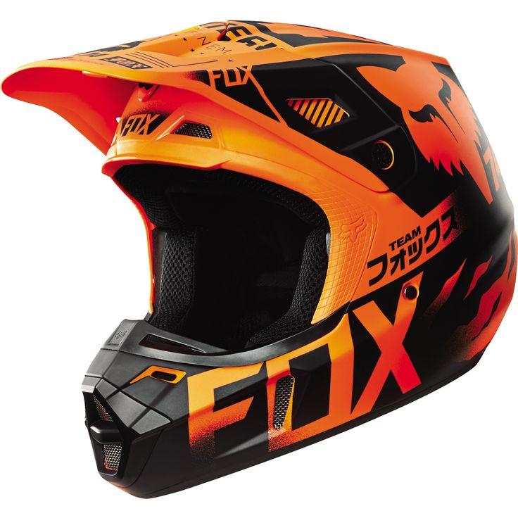 CROSS - CASQUE CROSS - FOX