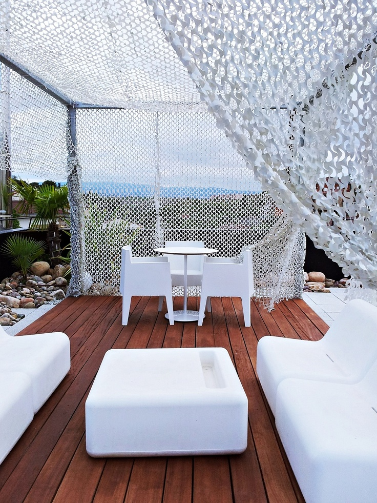 Terrace @ViuraHotel in #Rioja, #Spain, #hotel