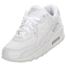 white nike air max 90 kids