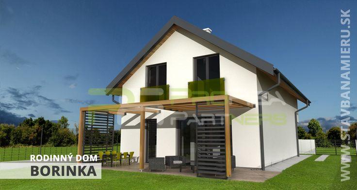 projekt rodinného domu v obci Borinka