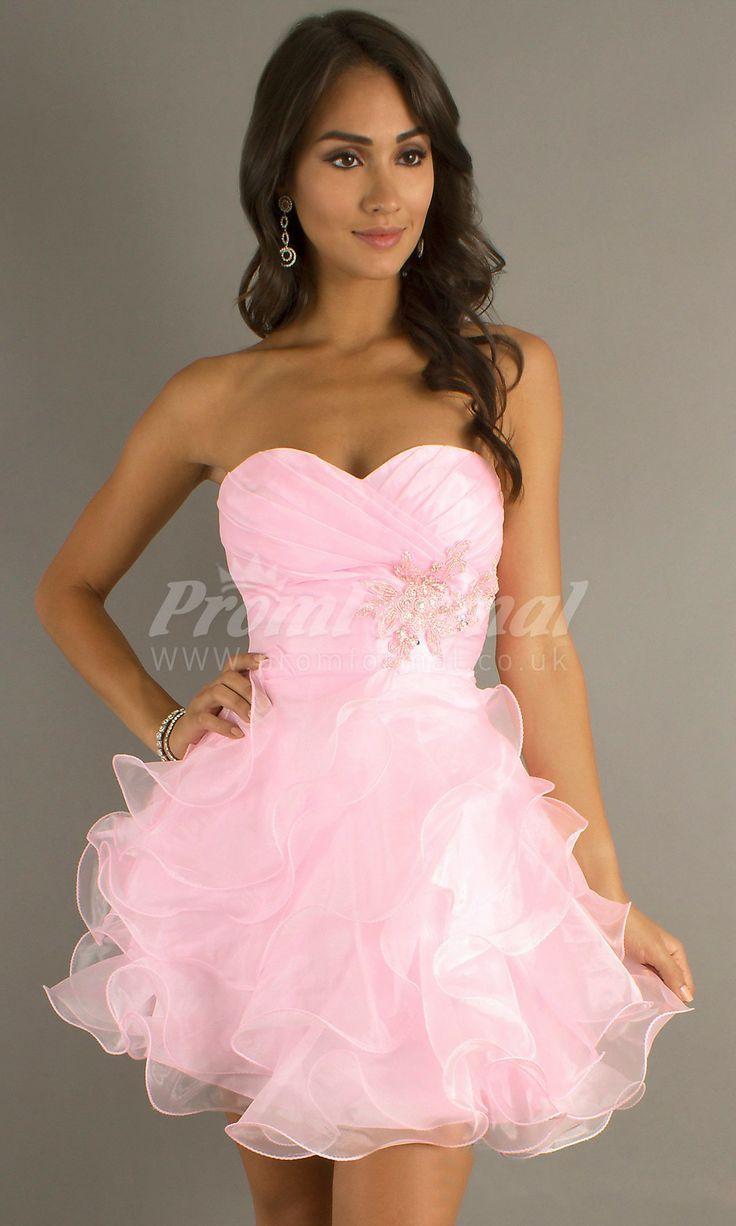 Mejores 152 imágenes de short prom dresses en Pinterest | Gasa ...