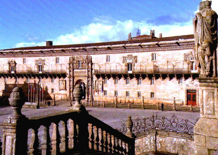 Santiago de Compostela, Santiago, Spain   SANTIAGO DE COMPOSTELA. PARADOR DE TURISMO.