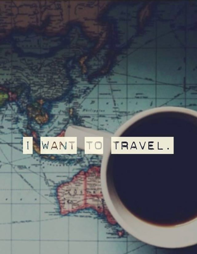 I want to travel