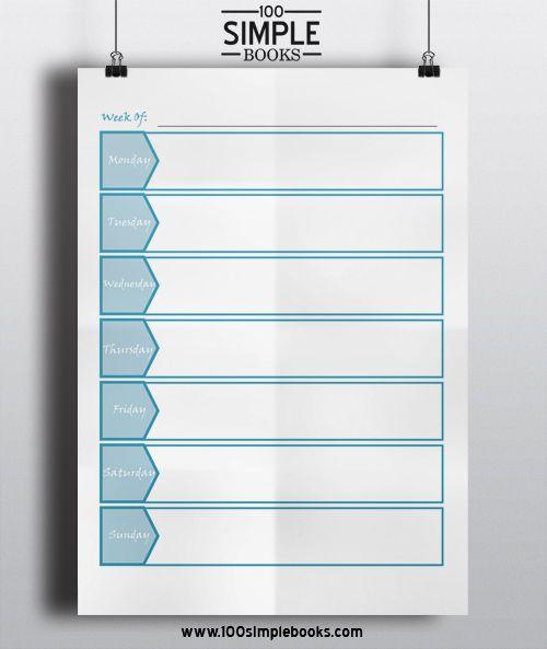 Doc30922266 Weekly Planner Template Word Free Weekly Schedule – Weekly Planner Template Word