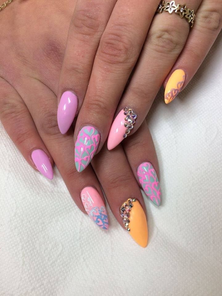 by Emilia Maria, Follow us on Pinterest. Find more inspiration at www.indigo-nails.com #nailart #nails #spring http://www.indigo-nails.compl/gel-polish/2607-indigo-love-gel-polish-5902188520668.html%20by%20Emilia%20Maria?utm_content=buffer00b64&utm_medium=social&utm_source=pinterest.com&utm_campaign=buffer