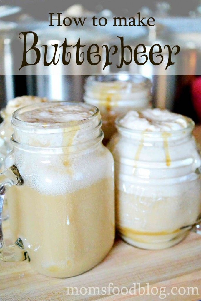 How to make Butterbeer from Harry Potter for Halloween or just Fall from scratch! Includes the recipe for special sauce and Butterbeer whipped cream!