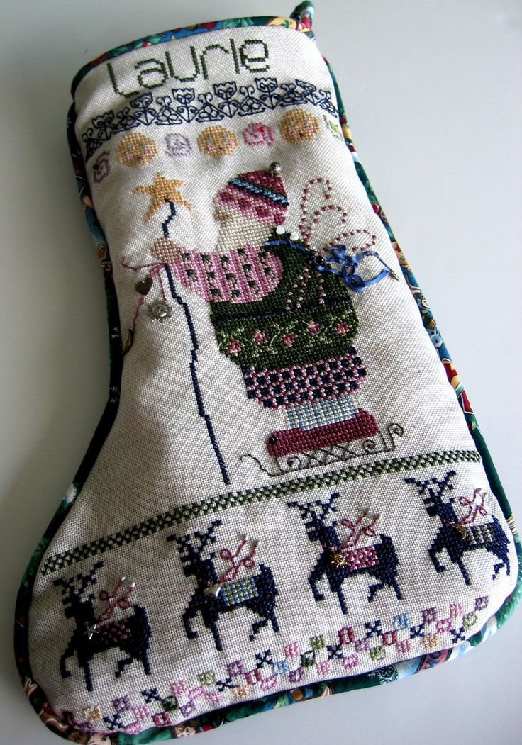 Pattern Christmas Stocking