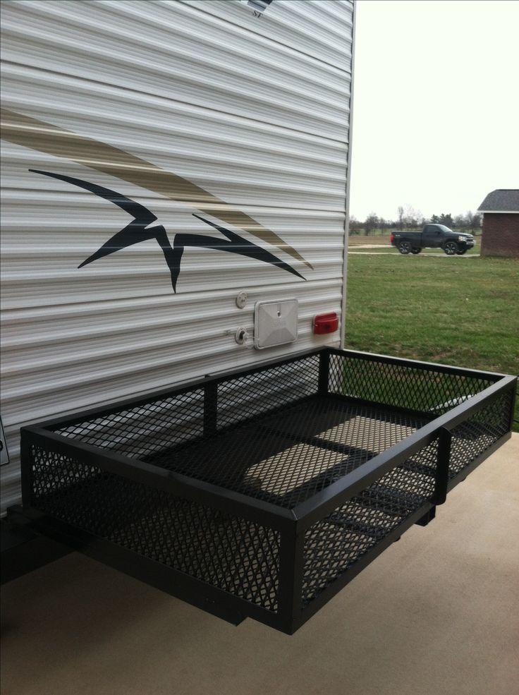 Our Diy Camper Bumper Storage Rack Brd S Project Shop