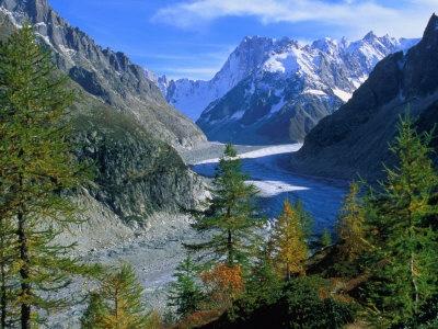 #Jetsetter Curator-Escape  Mer de Glace and Grandes Jorasses from Grand Balcon Nord, Chamonix, Rhone-Alpes, France