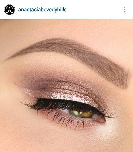 Tate cosmetics rose gold eyeliner