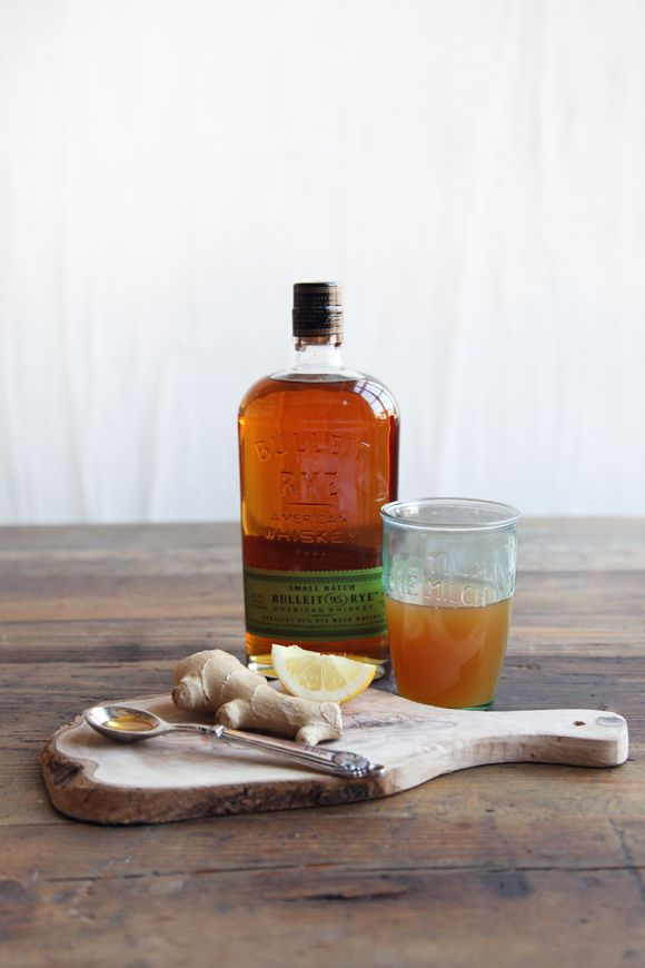 The Hot Apple-Ginger Toddy | when it cools down you want to warm up with the flavors of Fall