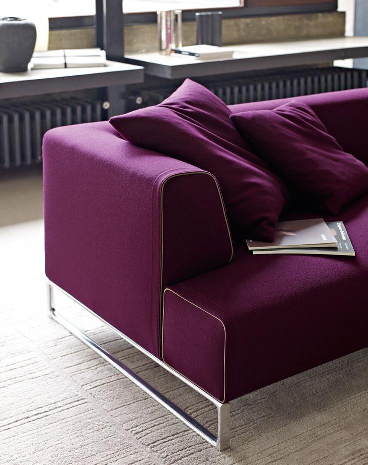 Sofa SOLO u002714 - Collection B\B Italia - Design Antonio Citterio - das modulare ledersofa heart formenti