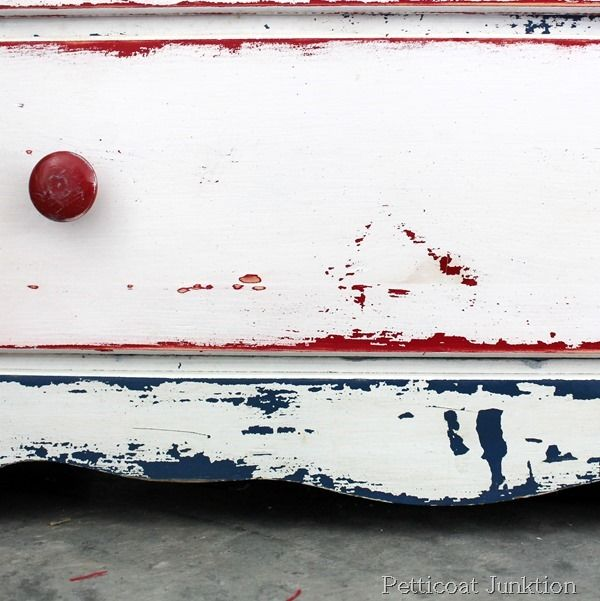 The Red White Blue Chest Just Needed A Little Distressing18 best Red  white   blue images on Pinterest   Red white blue  . Red White And Blue Painted Furniture. Home Design Ideas