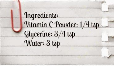 wildturmeric: DIY: Best Vitamin C Serum Recipe For Face