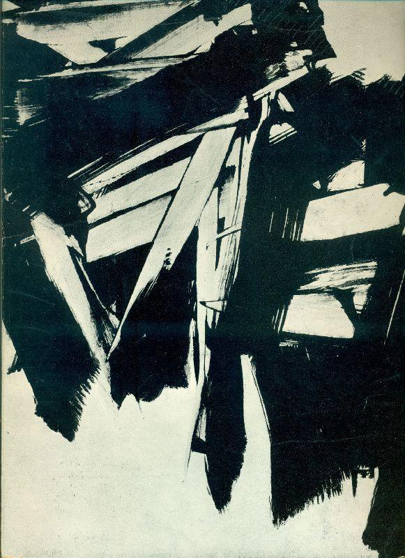 Soulages.  Paris, Galerie de France, 1960.