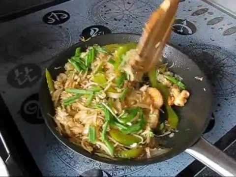 М-к Рисовая лапша с креветками по-тайски