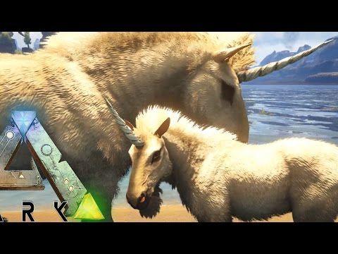 awesome Ark Survival Evolved - NEW UNICORN & MEGALODON BREEDING, LASSO TAMING - (Ark Gameplay)