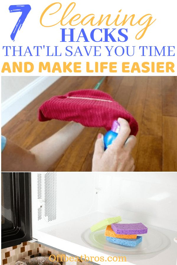 7 Simple Cleaning Hacks That'll Save You A Ton Of Time ...