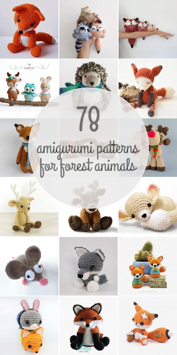 Amigurumi Forest Animals : Best 25+ Forest animals ideas on Pinterest