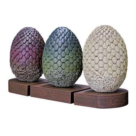 Soporte sujetalibros huevos de dragón - Juego de Tronos - 140€