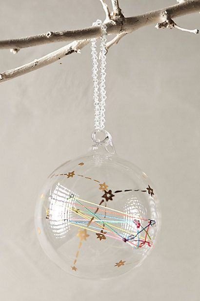 String Of Stars Ornament #anthrofave #anthropologie #christmas #xmas #decoration