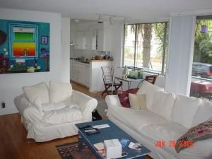 living room sea haven ocean view