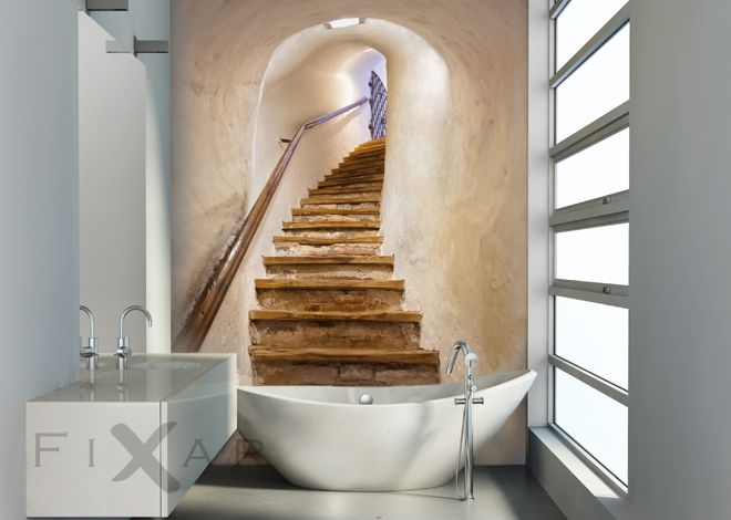 bildergebnis f r fototapeten treppe led leuchtwand. Black Bedroom Furniture Sets. Home Design Ideas