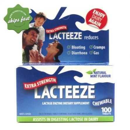 Helps ease symptoms of lactose intolerance.