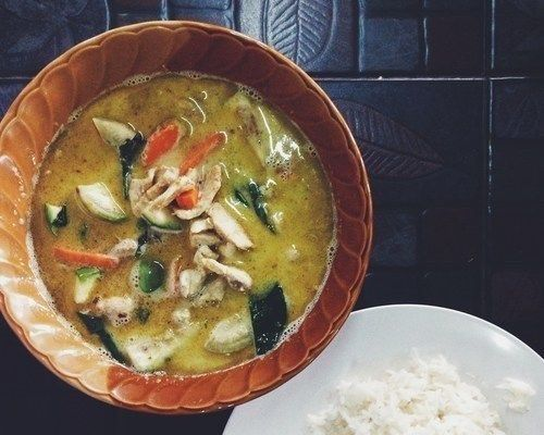 Best green curry I ever had.