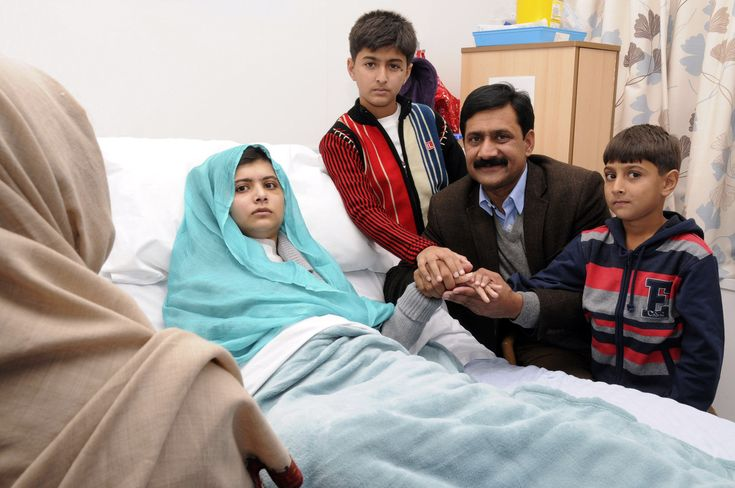 Malala Yousufzai, Pakistani Girl Shot By Taliban, Completes 2 Surgeries In UK and is recovering. She was shot because she believes in education for women. Read this and share!