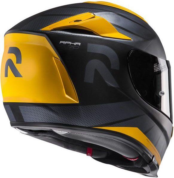 Avec ce casque intégral RPHA 70, HJC soigne le confort des motocyclistes