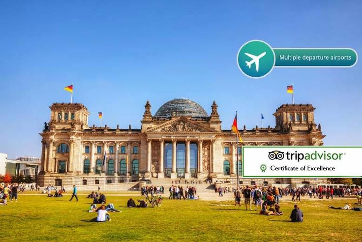 Discount UK Holidays 2017 2-3nt 4* Berlin with Flights, Breakfast & Hop-On-Hop Off Option From £89pp (from Crystal Travel) for a two-night Berlin break with breakfast and return flights, or from £119pp for a three-night break - save up to 44%
