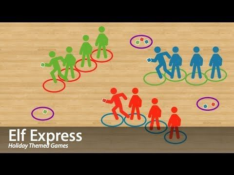 ThePhysicalEducator.com | Theme Games | Elf Express might be tricky for kdgn