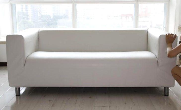 Erstaunlich Weisses Leder Sofa Ikea Couch Ikea Ikea Klippan