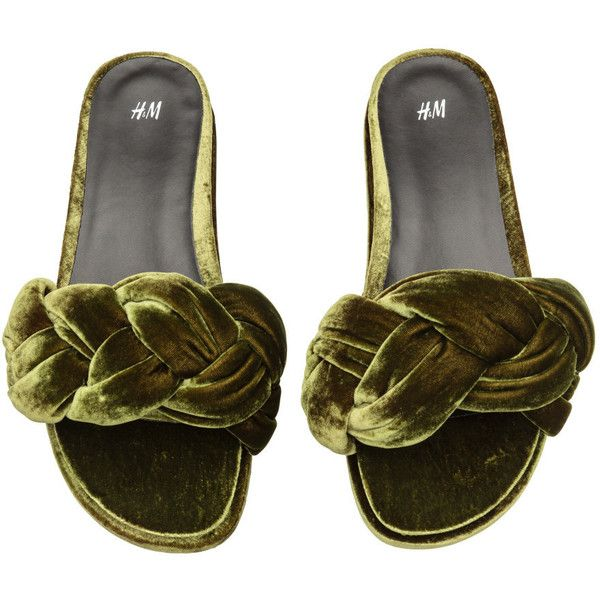 Slip-in Sandals $29.99 ($30) via Polyvore featuring shoes and sandals