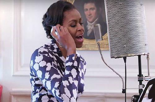 Мишель Обама прочитала рэп, призвав молодежь получить высшее образование (видео)