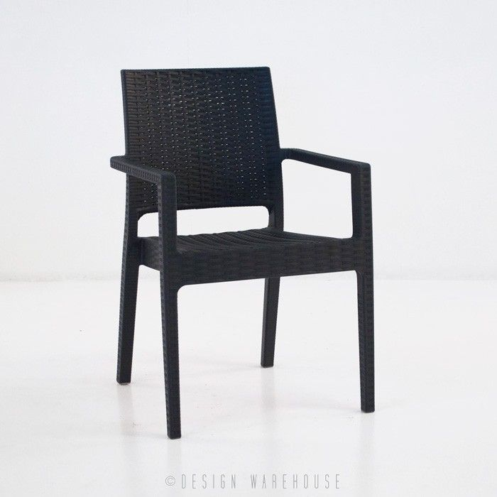 Event Cafe Dining Chair (Black) | Design Warehouse NZ