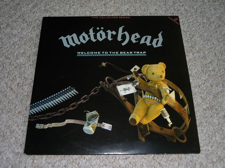 MOTORHEAD - Welcome To The Bear Trap - UK DOUBLE LP