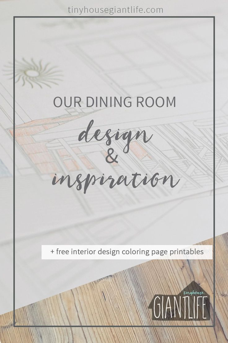 Printable coloring pages rooms house - Dining Room Inspiration Design Coloring Page Printables