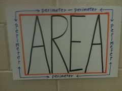 This is a great visual for perimeter and area.