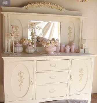 1000 images about SHABBY CHIC BUFFETS HUTCHES