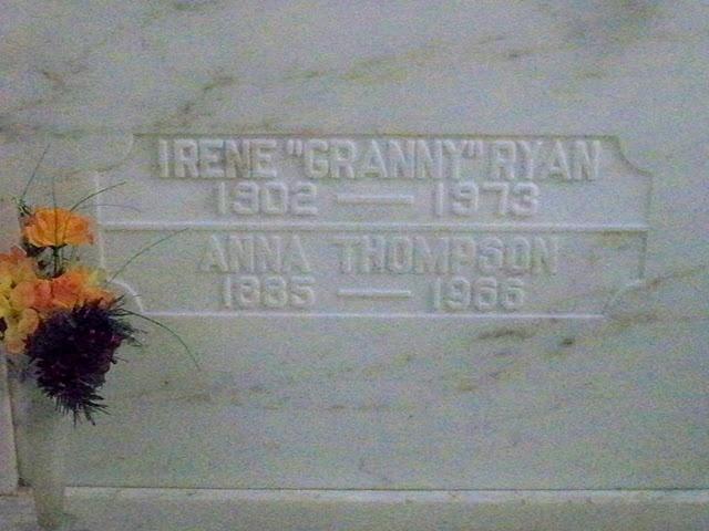 Grave Marker- Irene Ryan, actress (Granny-Beverly ...